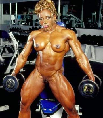 Body building femmes stars du porno
