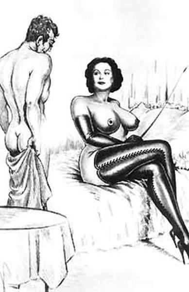 Vintage gay porn dominatrice enculeuse
