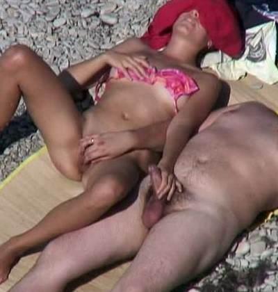 sex a la plage autocollant sex
